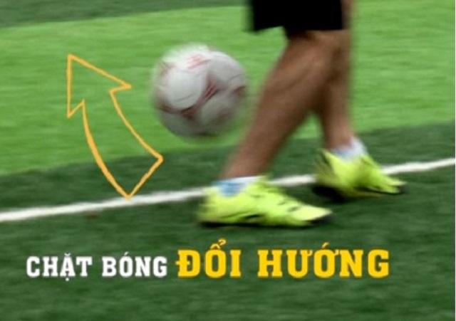 Kỹ thuật qua người trong bóng đá futsal